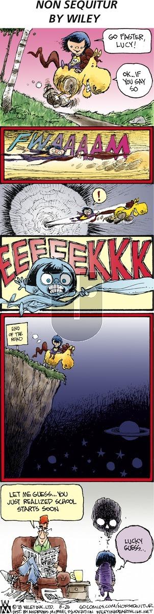 Non Sequitur on Sunday August 26, 2018 Comic Strip