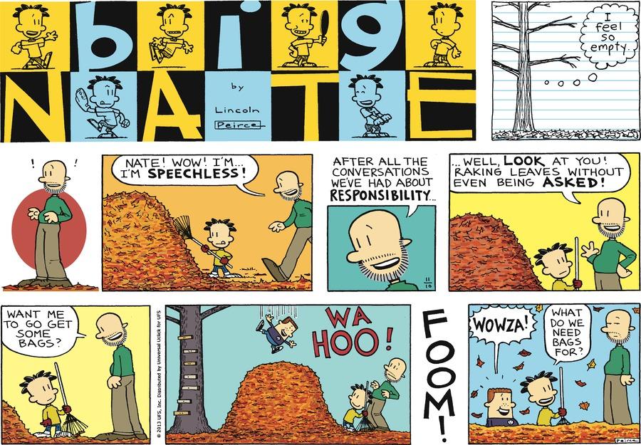 Big Nate for Nov 10, 2013 Comic Strip