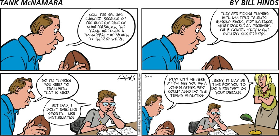 Tank McNamara Comic Strip for June 04, 2017