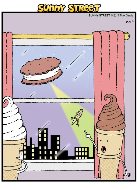 Sunny Street Comic Strip for October 15, 2014