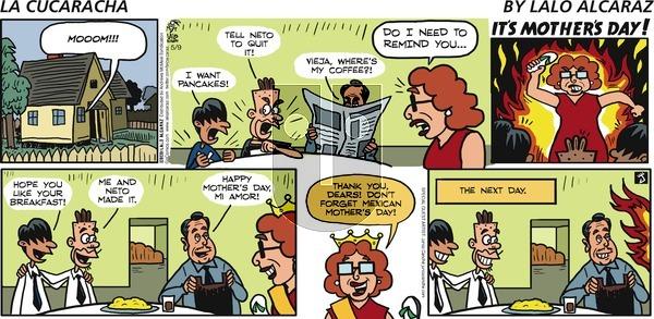La Cucaracha - Sunday May 9, 2021 Comic Strip
