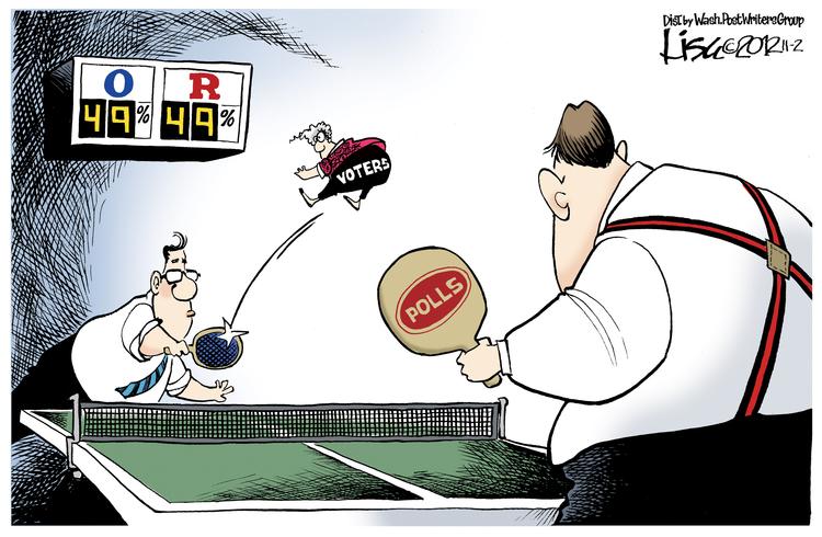 Lisa Benson Comic Strip for November 02, 2012