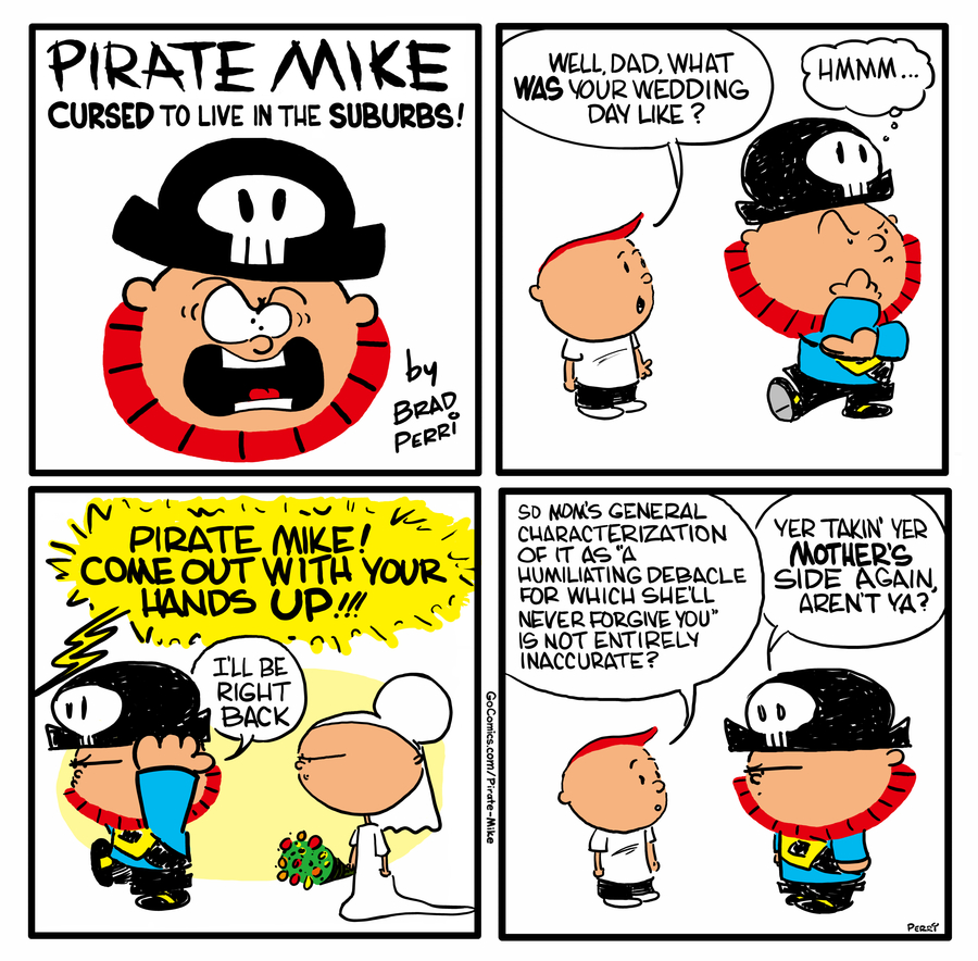 Pirate Mike by Brad Perri on Wed, 20 May 2020