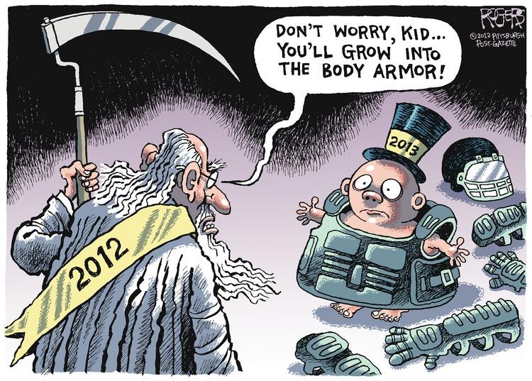 Rob Rogers for Dec 30, 2012 Comic Strip