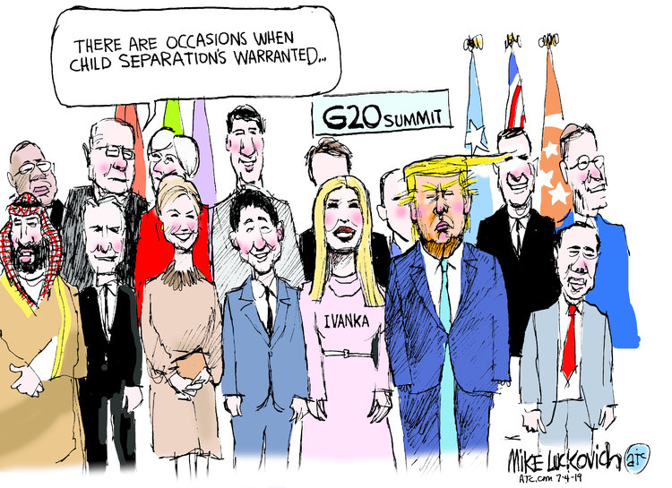 Mike Luckovich Comic Strip for July 04, 2019