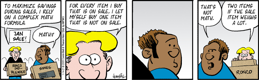 Rudy Park Comic Strip for January 14, 2021