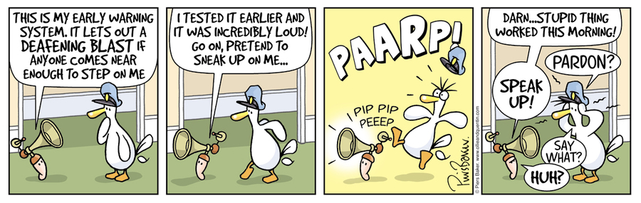 Ollie and Quentin for Feb 23, 2013 Comic Strip