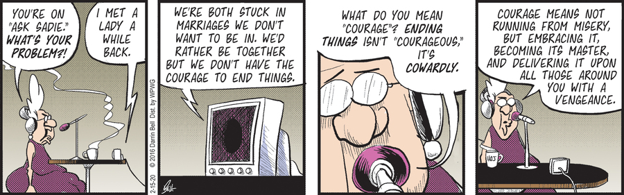 Candorville Comic Strip for February 15, 2020