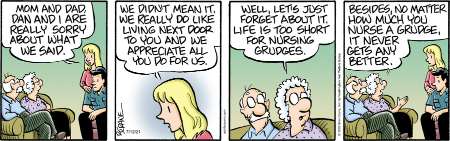 Pickles Comic Strip for July 12, 2021