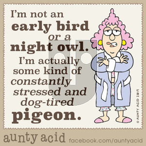 Aunty Acid on Wednesday October 9, 2019 Comic Strip