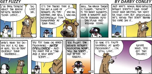 Get Fuzzy - Sunday March 14, 2021 Comic Strip