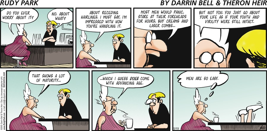 Rudy Park for May 19, 2013 Comic Strip