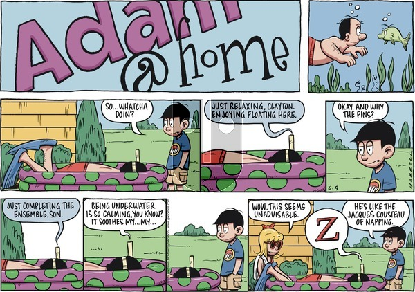 Adam@Home on Sunday June 9, 2019 Comic Strip