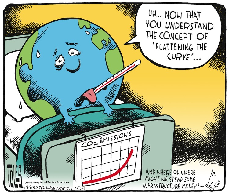 Tom Toles Comic Strip for April 05, 2020