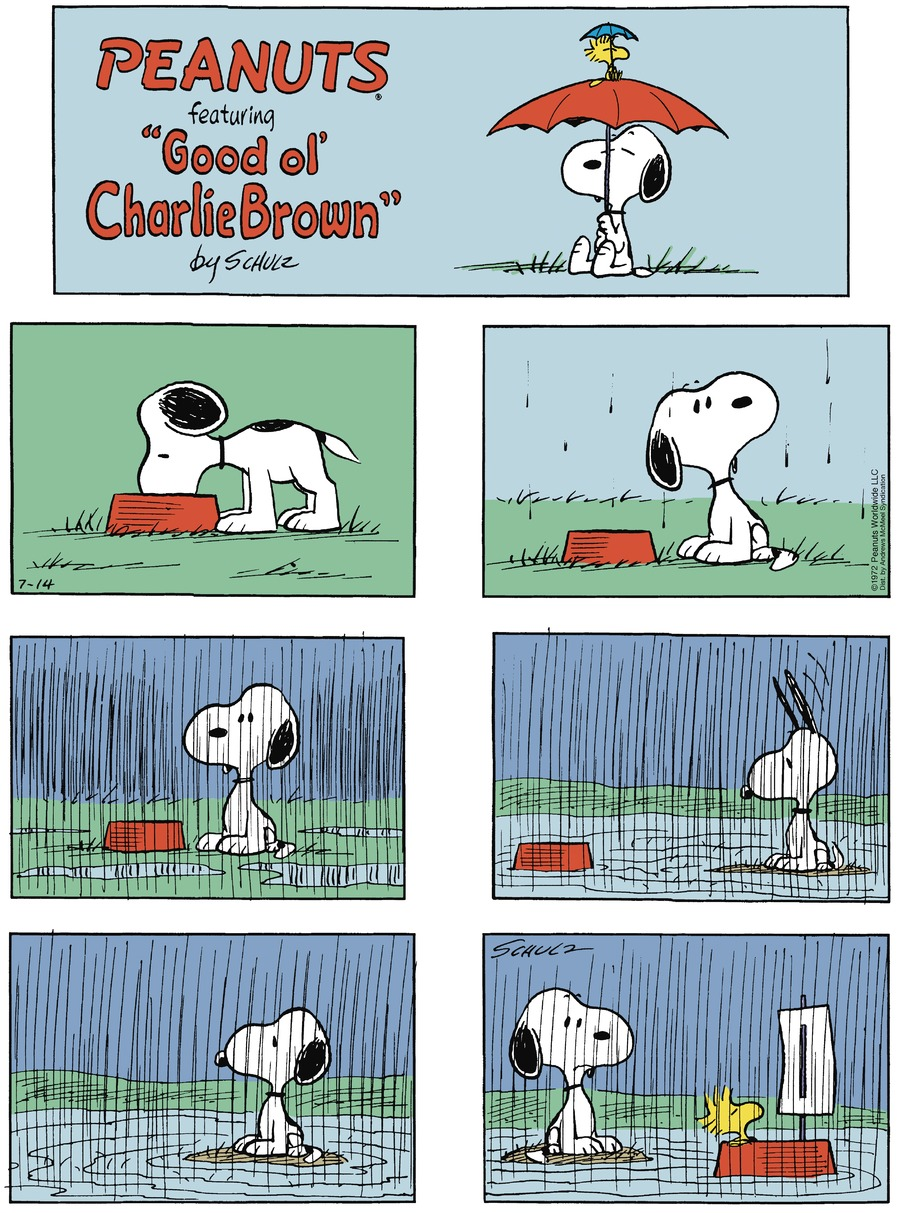 Peanuts by Charles Schulz for July 14, 2019
