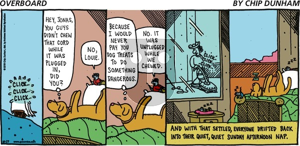 Overboard - Sunday October 27, 2019 Comic Strip