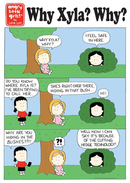 Angry Little Girls Comic Strip for September 27, 2021