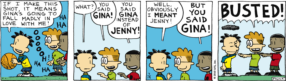 Big Nate Comic Strip for July 19, 2010