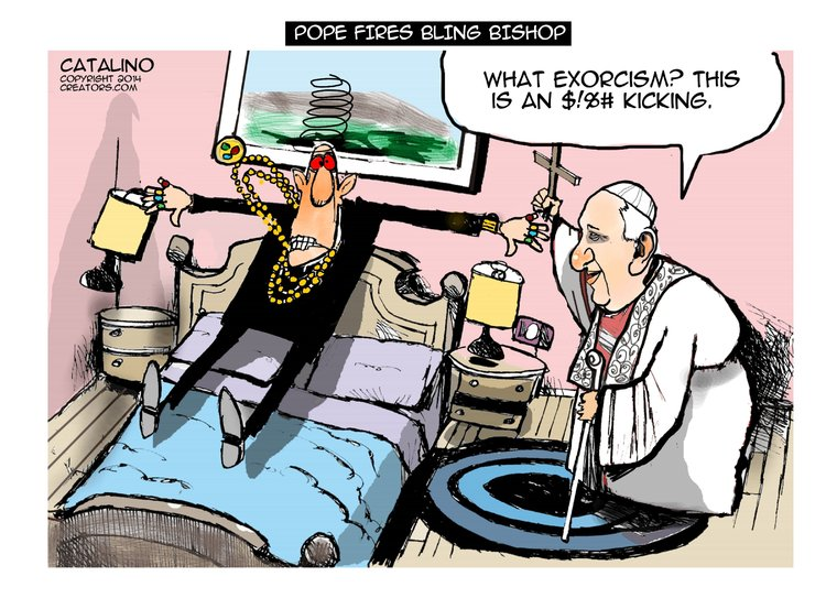Ken Catalino for Mar 30, 2014 Comic Strip