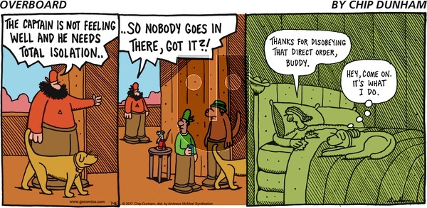 Overboard on Sunday July 16, 2017 Comic Strip