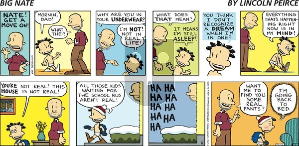 Big Nate on Sunday January 8, 2017 Comic Strip