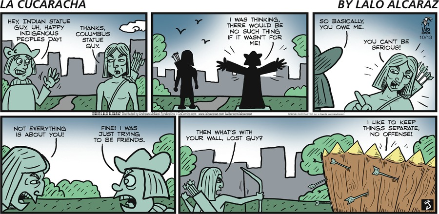 La Cucaracha Comic Strip for October 13, 2019