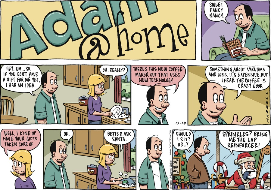 Adam@Home for Dec 18, 2016 Comic Strip