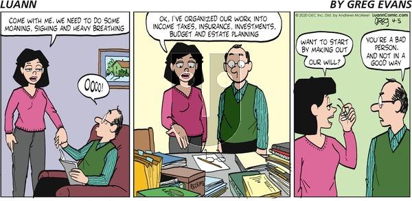 Luann - Sunday April 5, 2020 Comic Strip