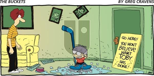 The Buckets on Sunday September 24, 2017 Comic Strip
