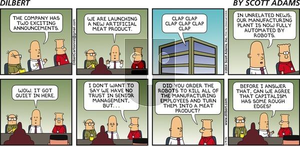 Dilbert - Sunday November 9, 2014 Comic Strip