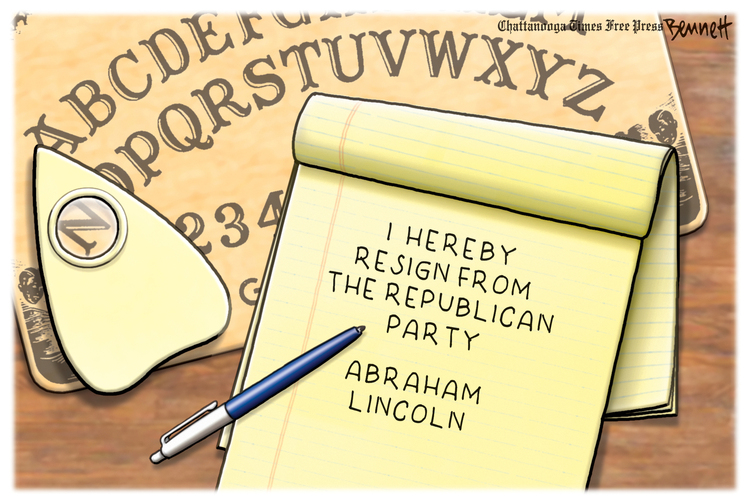 Clay Bennett by Clay Bennett on Wed, 05 May 2021
