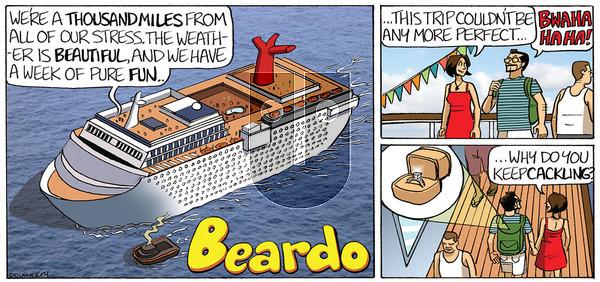 Beardo - Tuesday September 3, 2019 Comic Strip