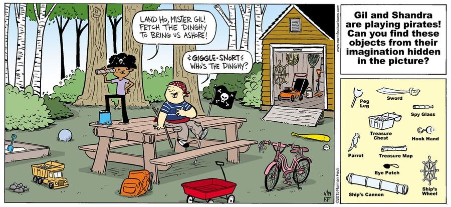 Gil Comic Strip for April 07, 2019