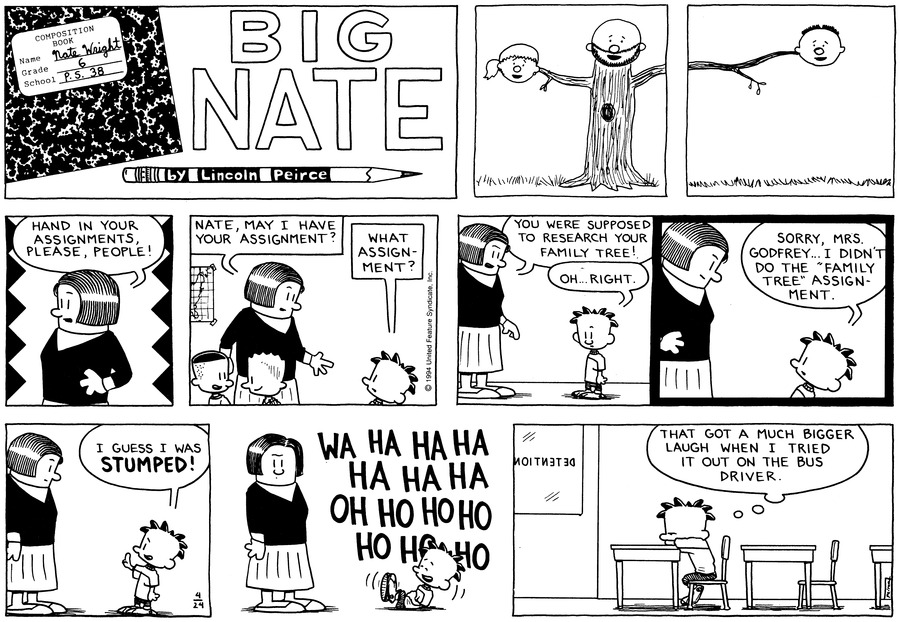 Big Nate: First Class by Lincoln Peirce for May 05, 2019
