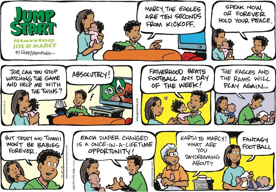 JumpStart for Oct 5, 2014 Comic Strip