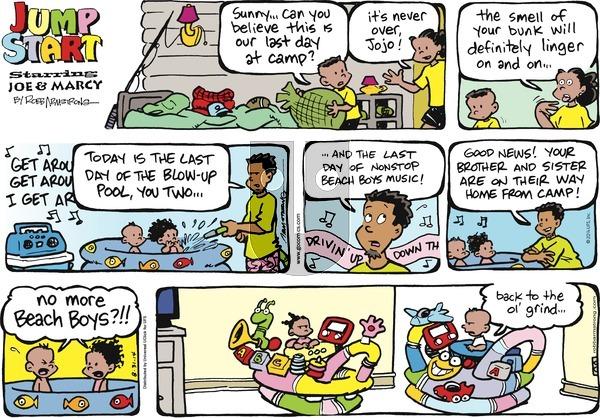 JumpStart on Sunday August 31, 2014 Comic Strip