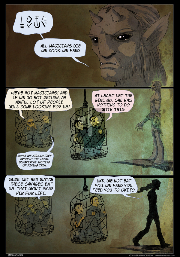 The Conjurers on Monday November 18, 2019 Comic Strip