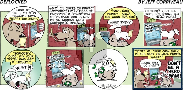 DeFlocked on Sunday May 29, 2011 Comic Strip