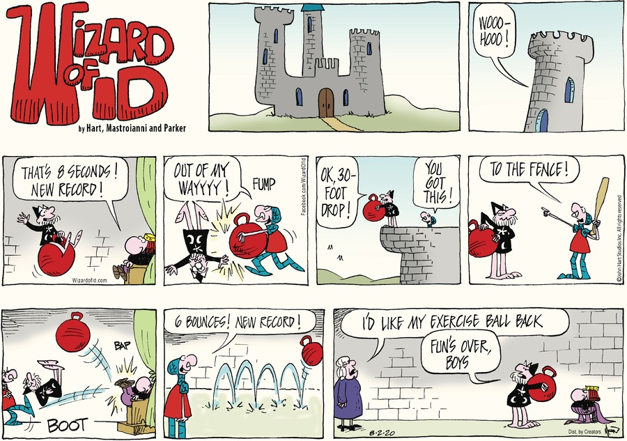 Wizard of Id by Parker and Hart on Sun, 02 Aug 2020
