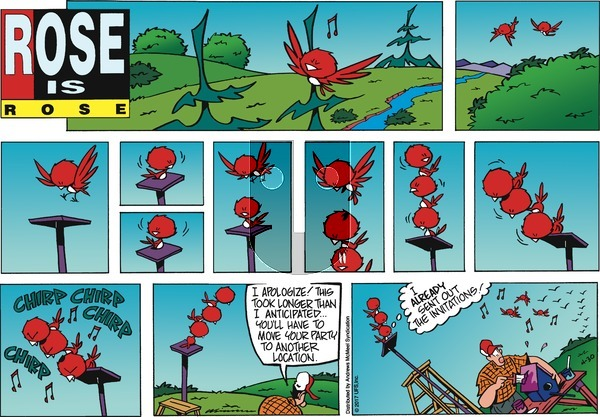 Rose is Rose on Sunday April 30, 2017 Comic Strip