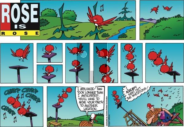 Rose is Rose on Sunday April 30, 2017 Comic Strip