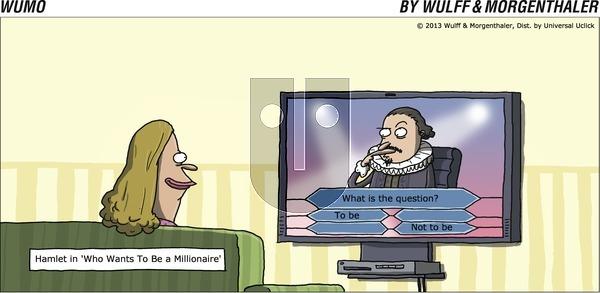 WuMo - Sunday October 20, 2013 Comic Strip