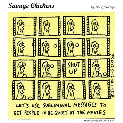 Savage Chickens Comic Strip for March 16, 2015