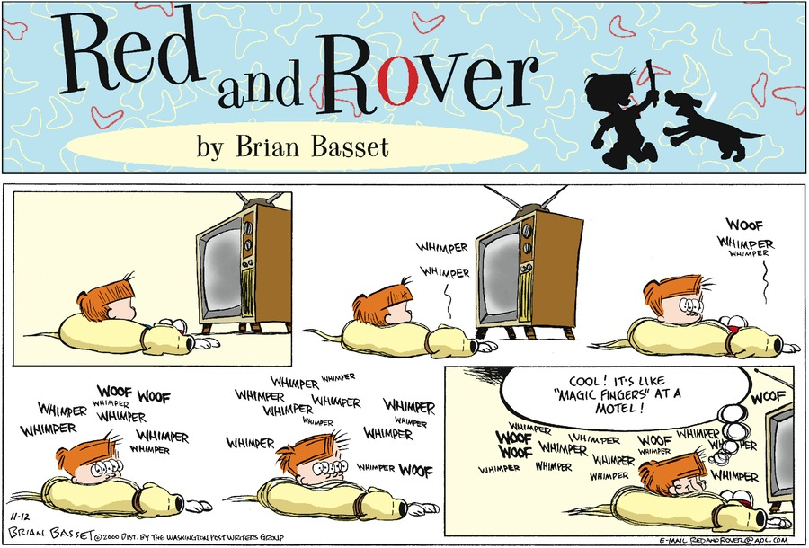 Red and Rover for Nov 12, 2000 Comic Strip
