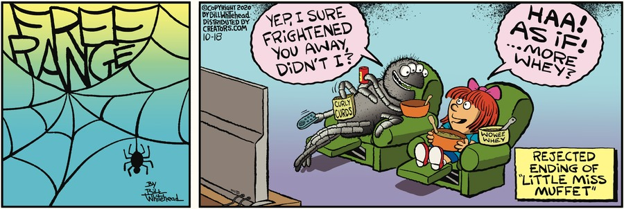 Free Range Comic Strip for October 18, 2020