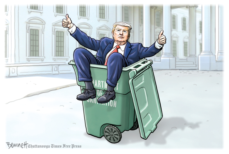 Clay Bennett Comic Strip for January 20, 2021