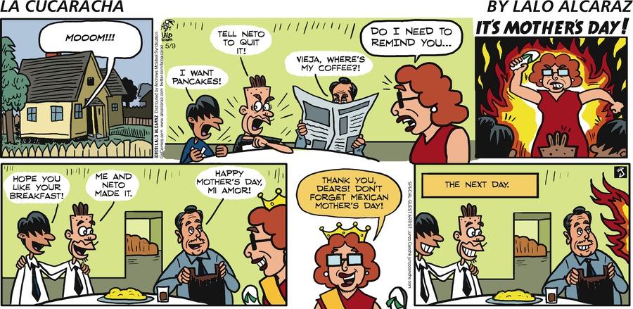 La Cucaracha Comic Strip for May 09, 2021