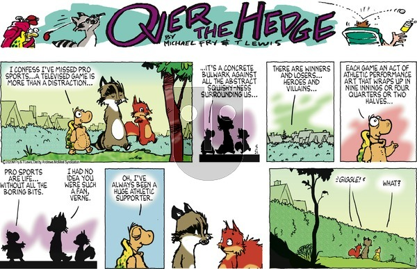 Over the Hedge on Sunday May 31, 2020 Comic Strip