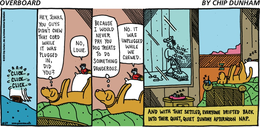 Overboard Comic Strip for October 27, 2019
