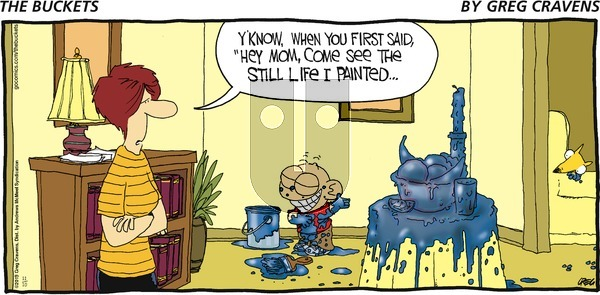 The Buckets - Sunday November 10, 2019 Comic Strip